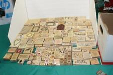 215 Rubber Stamp Lot Many Brands Themes Sizes NEW & USED Wood Wooden