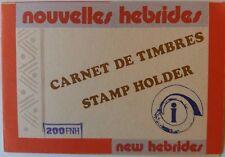 FRENCH NEW HEBRIDES 1977 TWO HUNDRED FRANCS ISLAND DEFINITIVES STAMP BOOKLET