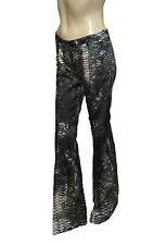 ** £1060.00 Roberto Cavalli Snakeskin Print Trousers **
