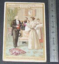 CHROMO 1897-1900 CHOCOLAT AIGUEBELLE FAURE RUSSIE 1897 NICOLAS II ALEXANDRA OLGA
