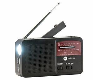 Motorola Weather Radio Rechargeable Power Bank w/ Flashlight ATMOS 800 MWR800