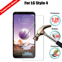 Premium Clear Tempered Glass Slim Screen Protector Film LG G2 G3 G4 G5 G6 K8 K10