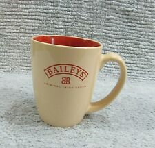 Old Baileys Original Irish Cream Heavy Stoneware Pottery 3x4 Rum Mug Cup FREE SH