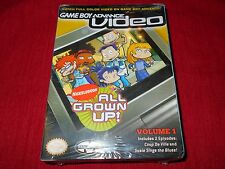 ALL GROWN UP!  VOL 1 FACTORY SEALED!! GAME BOY ADVANCE VIDEO C@@L!! MUST L@@K!!