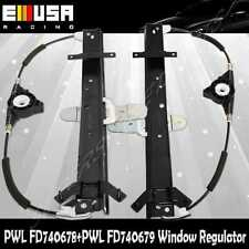 Rear RH+LH Window Regulator w/o MOTOR for 92-11 Ford Crown Victoria LX