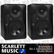 2x Mackie MR624 Studio Monitor Speaker 6 Inch MR-624 *PAIR OF MONITORS*