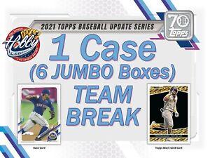 NEW YORK YANKEES 2021 Topps Update JUMBO 1 Case (6 Box) TEAM BREAK #2