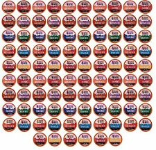 96 Count K-Cup Variety Pack 10 Distinct Beantown Roasters Coffees No Decaf No