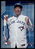 2020 Topps Series 2 Base Rainbow Foil #449 Shun Yamaguchi - Toronto Blue Jays