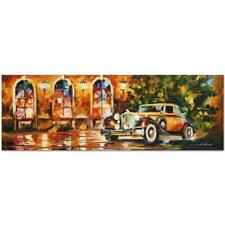 "Leonid Afremov ""1934 Packard"" Numbered Limited Edition on Canvas"