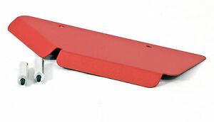 Custom Turbo Heat Shield for Mini Cooper / Clubman S  Matte RED 07-14