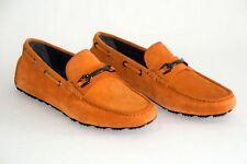 HUGO BOSS MOKASSINS, Gr. 42 / UK 8, UVP: 260,00 €, Made in Italy, Dark Orange
