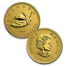 2015 Canada 4-Coin Gold Fractional Maple Leaf Set (1.4 oz) - SKU #85561