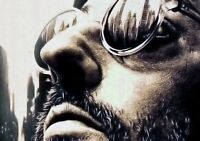 LEON; THE PROFESSIONAL Movie PHOTO Print POSTER Textless Film Art Jean Reno 001