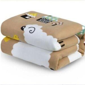 Electric Blanket Queen King Body Warming Heated Twin Bed Fleece Full Size Carpet