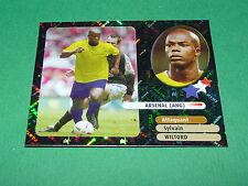 SYLVAIN WILTORD STARS ARSENAL ANGLETERRE PANINI FOOT 2003 FOOTBALL 2002-2003