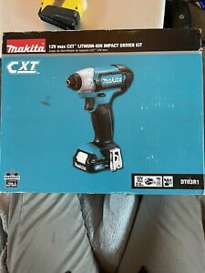Makita DT03R1 12V Lithium-Ion Impact Driver Kit New