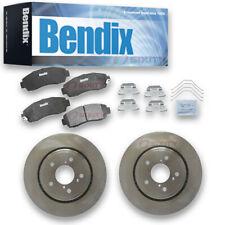Bendix Front Brake Rotors & Ceramic Pads for 2011-2017 Honda Odyssey  pc