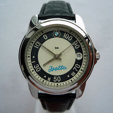 BMW Isetta Moto Coupe Bubble Classic Car Accessory Swiss Made Automatic Watch