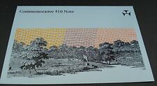 $10 Note 1988 Bicentenary First Polymer Commemoration - CONSECUTIVE Pair, AA 19.