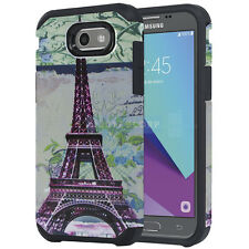 SAMSUNG GALAXY J3 LUNA PRO PRIME EIFFEL TOWER ASTRO CASE IMPACT RUGGED COVER