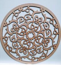 Wooden Circles Laser Cut Wall ceilings Decoration Blank