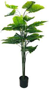 Realistic Foliage Artificial Taro Tree 145cm