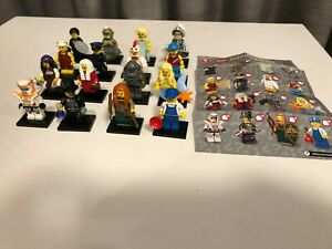 Lego Minifigures Series 9 Complete Set of 16 as new