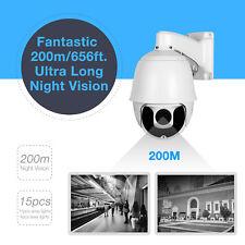 Outdoor HD 1080P 36X Zoom Network IP Camera CCTV Dome PTZ 200M  IR Night Vision
