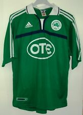 PANATHINAIKOS 2002 AUTHENTIC FOOTBALL SHIRT BY ADIDAS LARGE #18 PITSOS GREECE