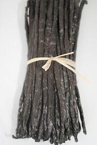 20 Gousses de vanille de Madagascar Grade B 10/12 cm