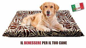 Cuccia Cuscino Lettino MATERASSO per Cane taglia medio grande 100% Made in Italy