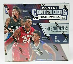 2016-17 Panini Contenders Draft Picks Basketball Hobby Box NEW FACTORY SEALED