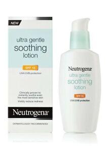Neutrogena Ultra Gentle Soothing Lotion SPF 15  4.0 fl oz NIB Ex 01/2015