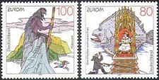 Alemania 1997 Europa/Cuentos Populares/Leyendas/caballo/pesca/Pescador/Grimm 2v Set n27967