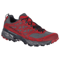 La Sportiva Akyra Scarpa Mountain Trail Running Hiking Carbon Red Chili