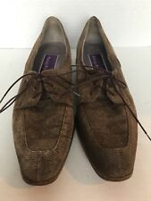 c7bfd47ece43 PHYLLIS POLAND - Women s Dress Oxfords Shoes SUEDE Animal Print - Size 8.5  AA