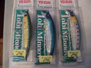 3 -YO-ZURI TOBI MINNOWS  NIP  (VERY HARD TO FIND) LOT #3