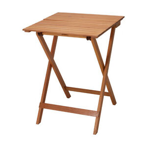 Folding Timber Table For indoor, outdoor and domestic use Party Hiking For XMAS.