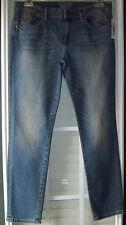 Esprit Cotton Blend, Mid-Rise, Distressed Skinny Jeans - waist 31, inseam 30