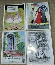 (Group of 4) Paperdoll Review Back Issue Catalogs (Issues 12A, 17, 18, 20)