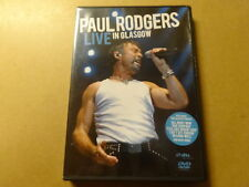 MUSIC DVD / PAUL RODGERS: LIVE IN GLASGOW