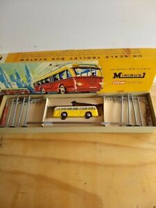 Vintage Eheim by AHM HO Minibus System Item -Trolley Bus-Excellent Condition.