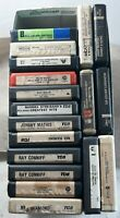 LOT of 18 - 8 Track Tapes Streistand Neil Diamond Helen Reddy and more Untested