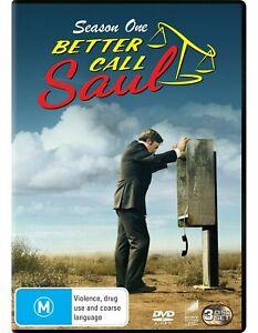 Better Call Saul Season 1 Series One (DVD, 3 Disc Set) - Region 4 NEW+SEALED