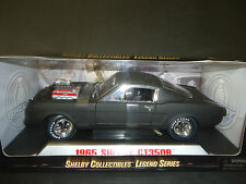Shelby Collectibles Shelby GT350R 1965 Matt Black 1/18