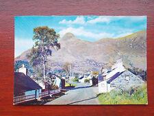 Glen Coe Village, near Fort William, Vintage RP Millar & Lang Postcard