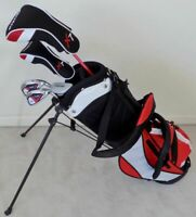 NEW Boys Jr. Golf Set Clubs & Stand Bag for Kids Children Ages 5-8 Junior