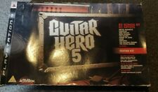Guitar Hero 5 (Guitar Pack) PS3 PlayStation 3 Video Game VGC Strap Stickers MORE