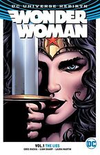 Wonder Woman Volume 1 The Lies GN Greg Rucka Liam Sharp Rebirth New NM